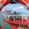 Hajós kerékpár szállítás a Balatonon
