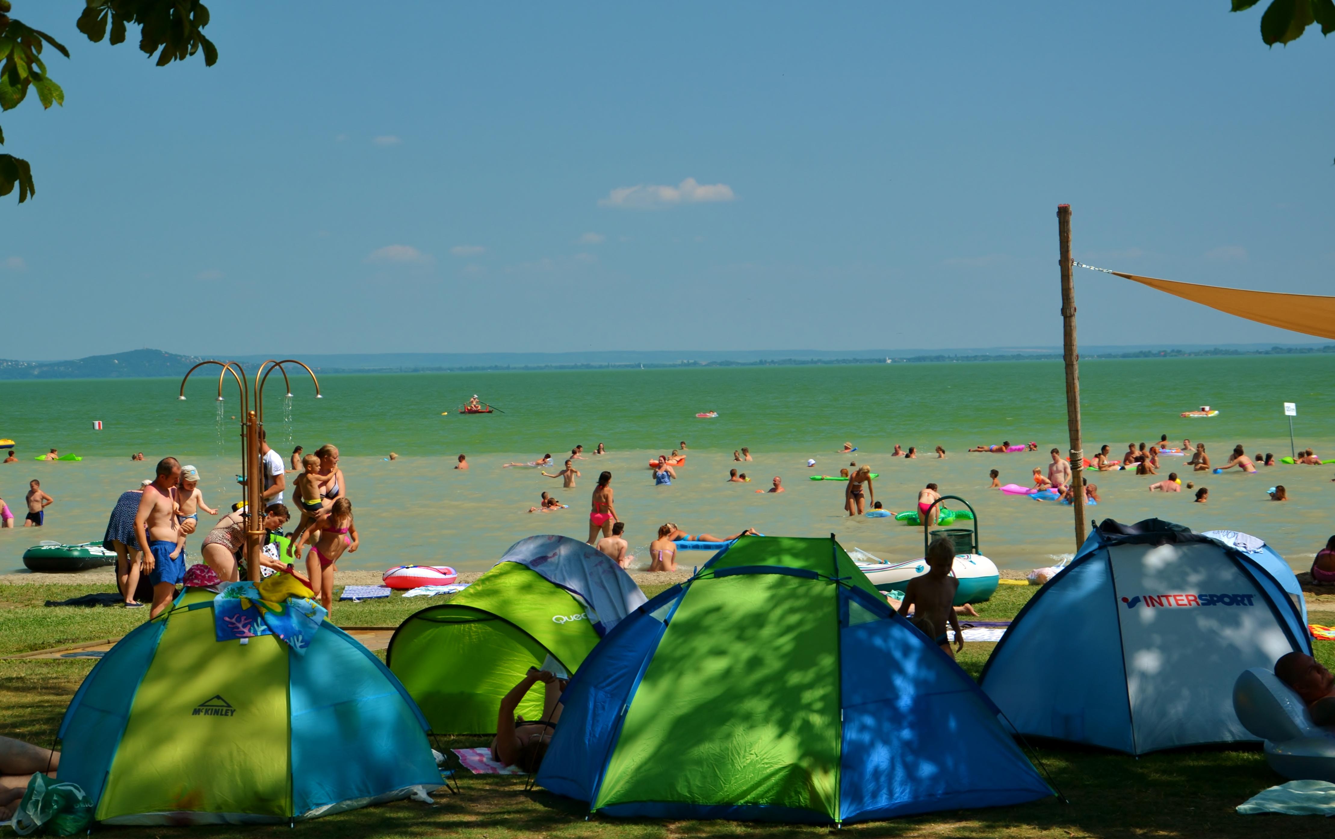 Pláž Balatongyörök