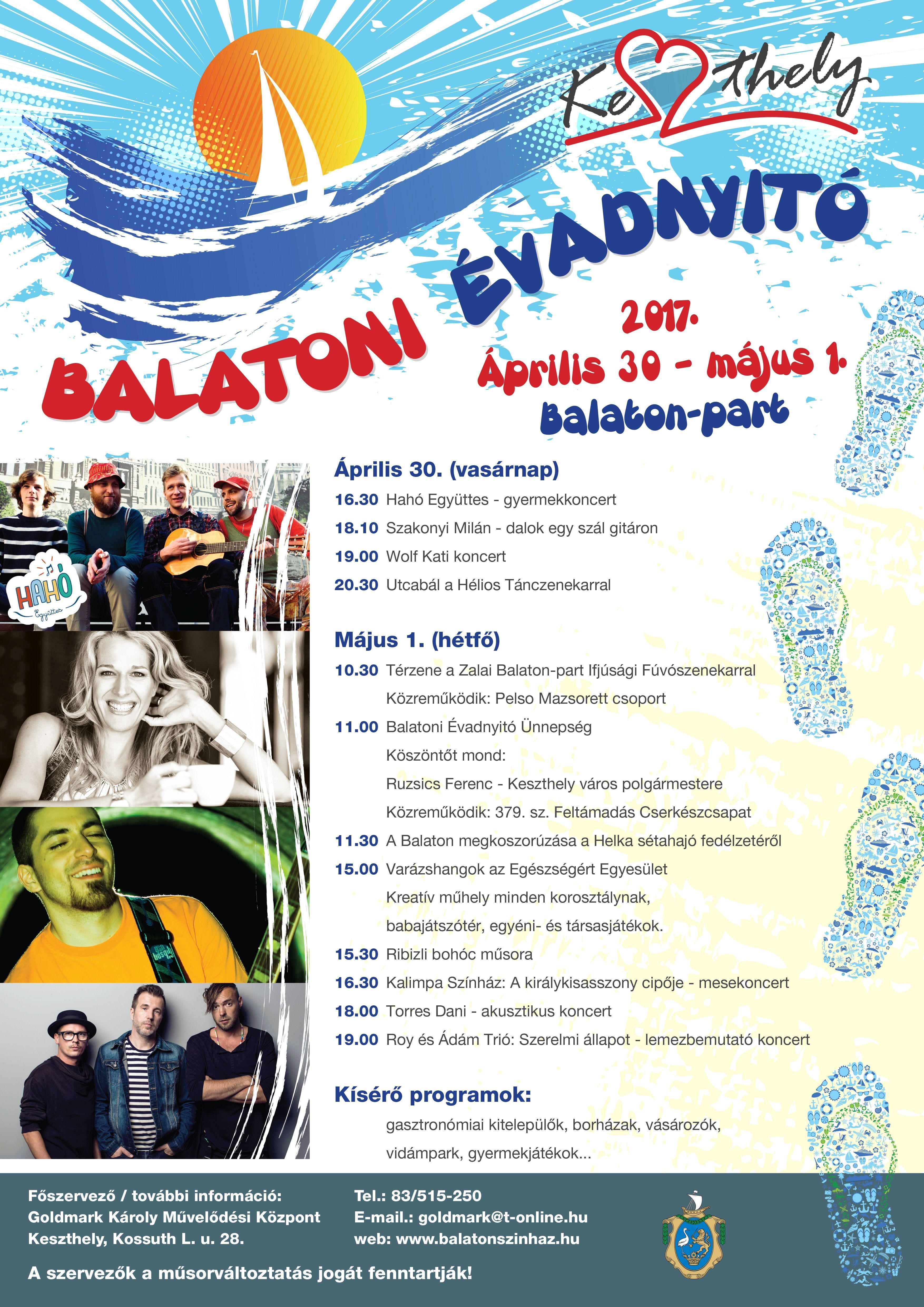 Balatoni évadnyitó és majális Keszthelyen