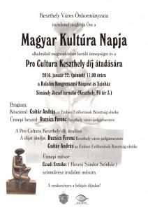 Magyar Kultúra plakát2