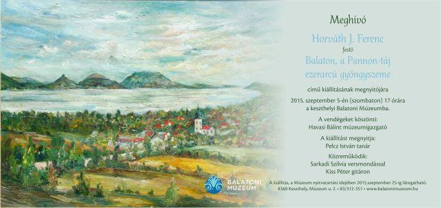 Balaton, a Pannon-táj ezerarcú gyöngyszeme kiállítás