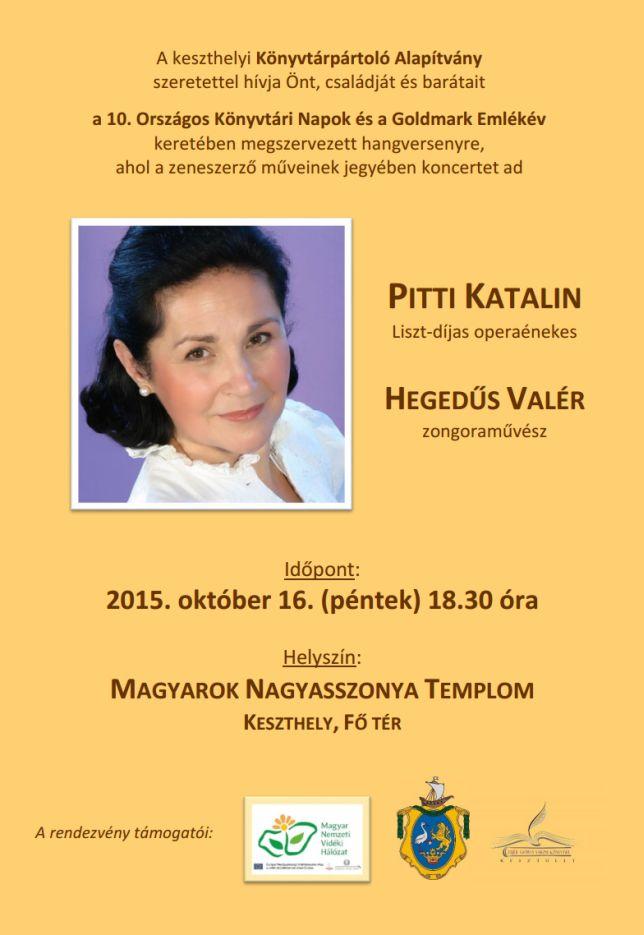 Pitti Katalin hangverseny