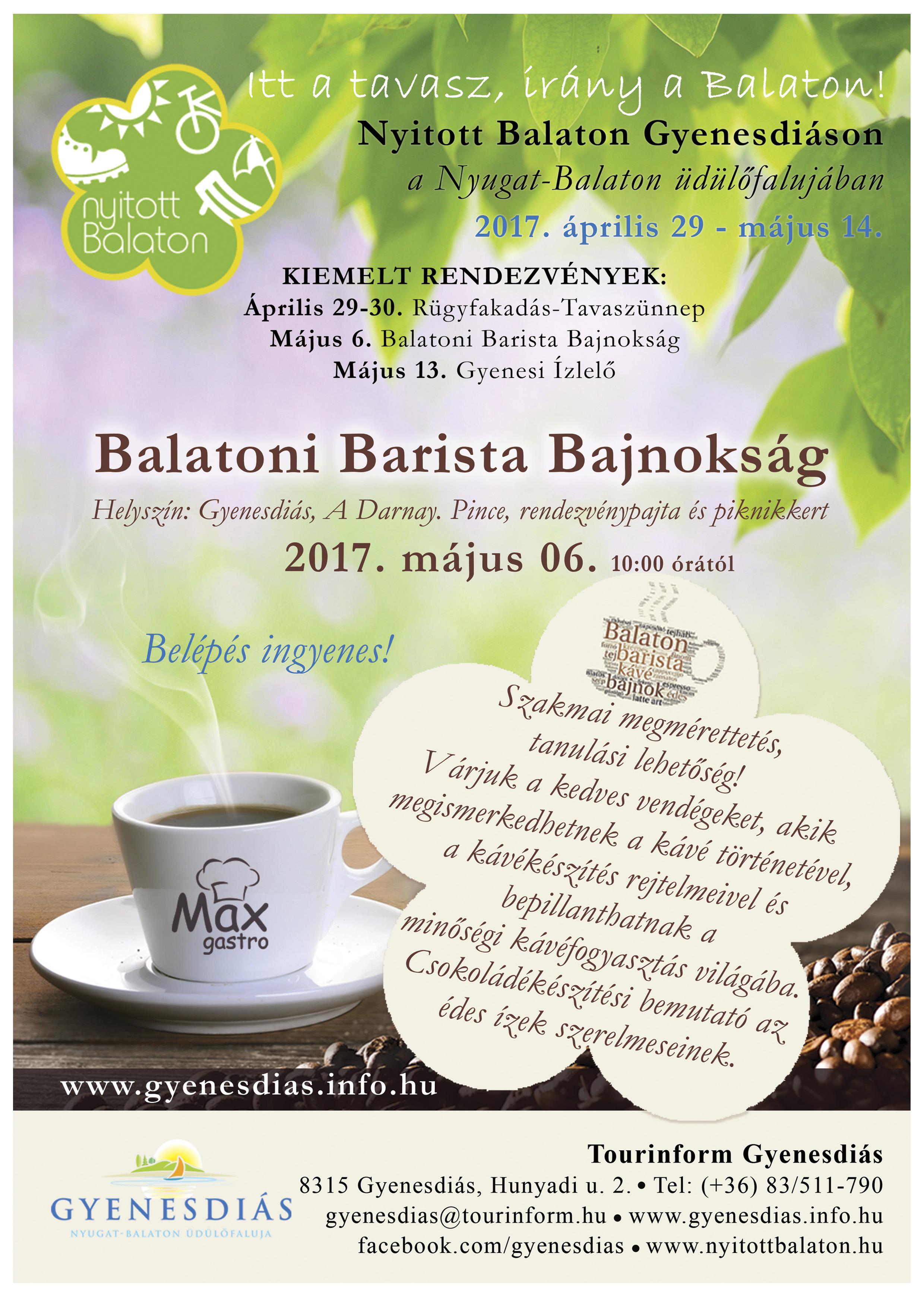 Balatoni Barista 2017 webre