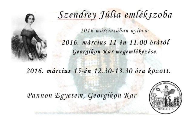 Szendrey Júlia emlékszoba látogatása