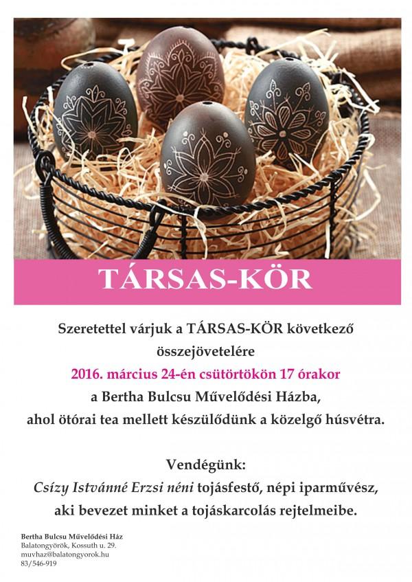 Társas-kör  2016.03.24.
