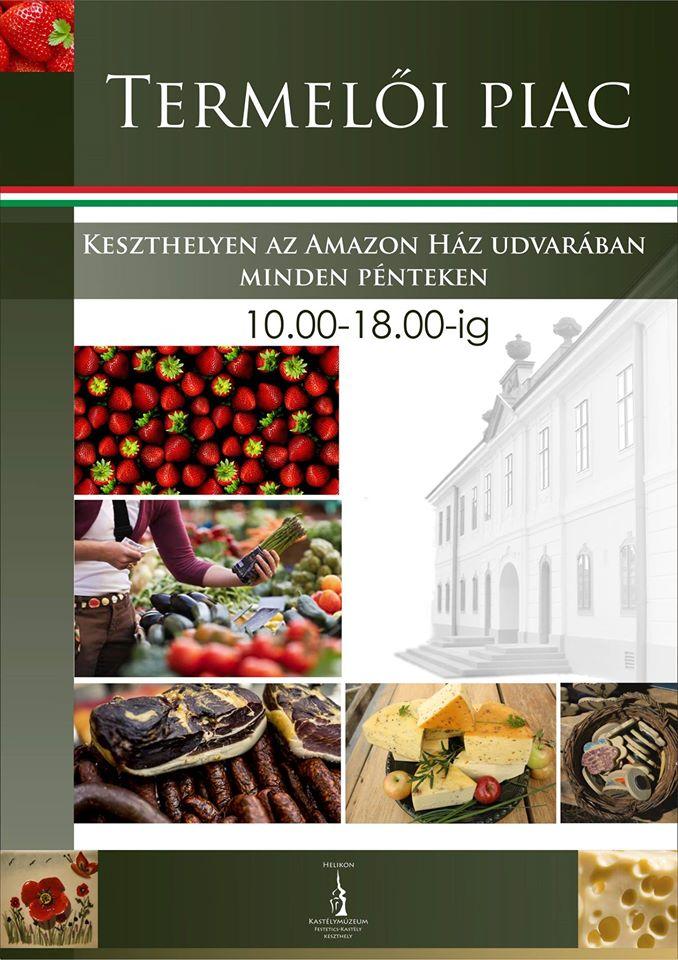 amazon termelői piac Keszthely