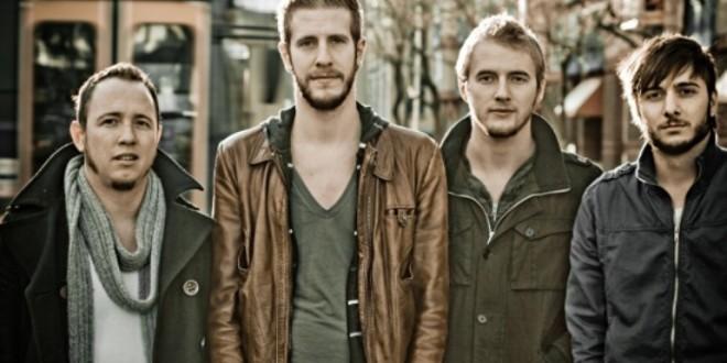 The New Divide amerikai rock egyóttes koncertje a keszthelyi zenepavilonban
