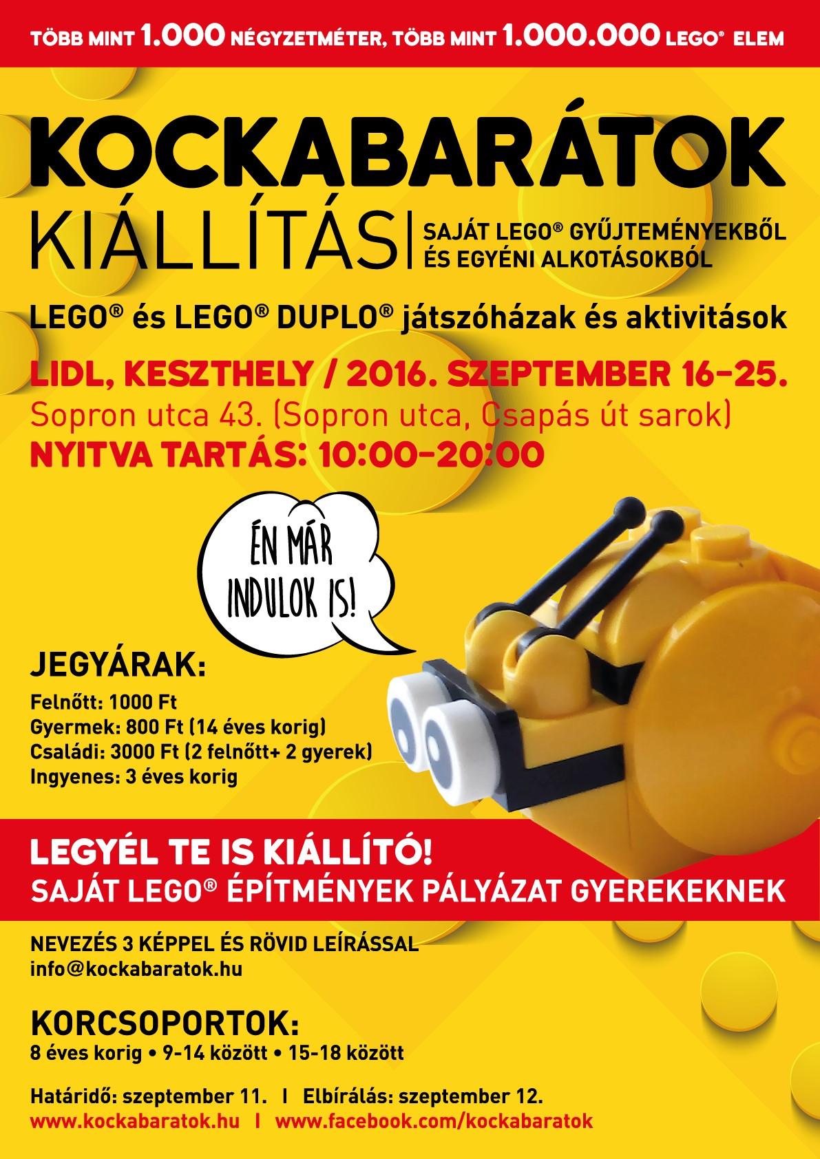 LEGO-kiállítás