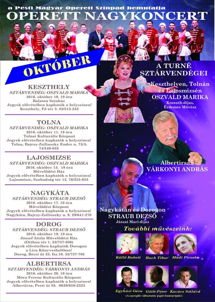 Operett Nagykoncert Keszthelyen