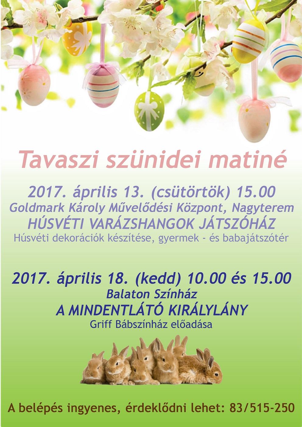 Tavaszi szünidei matiné_04.13.