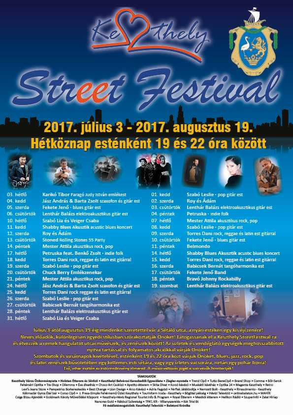 Keszthely Street Festival