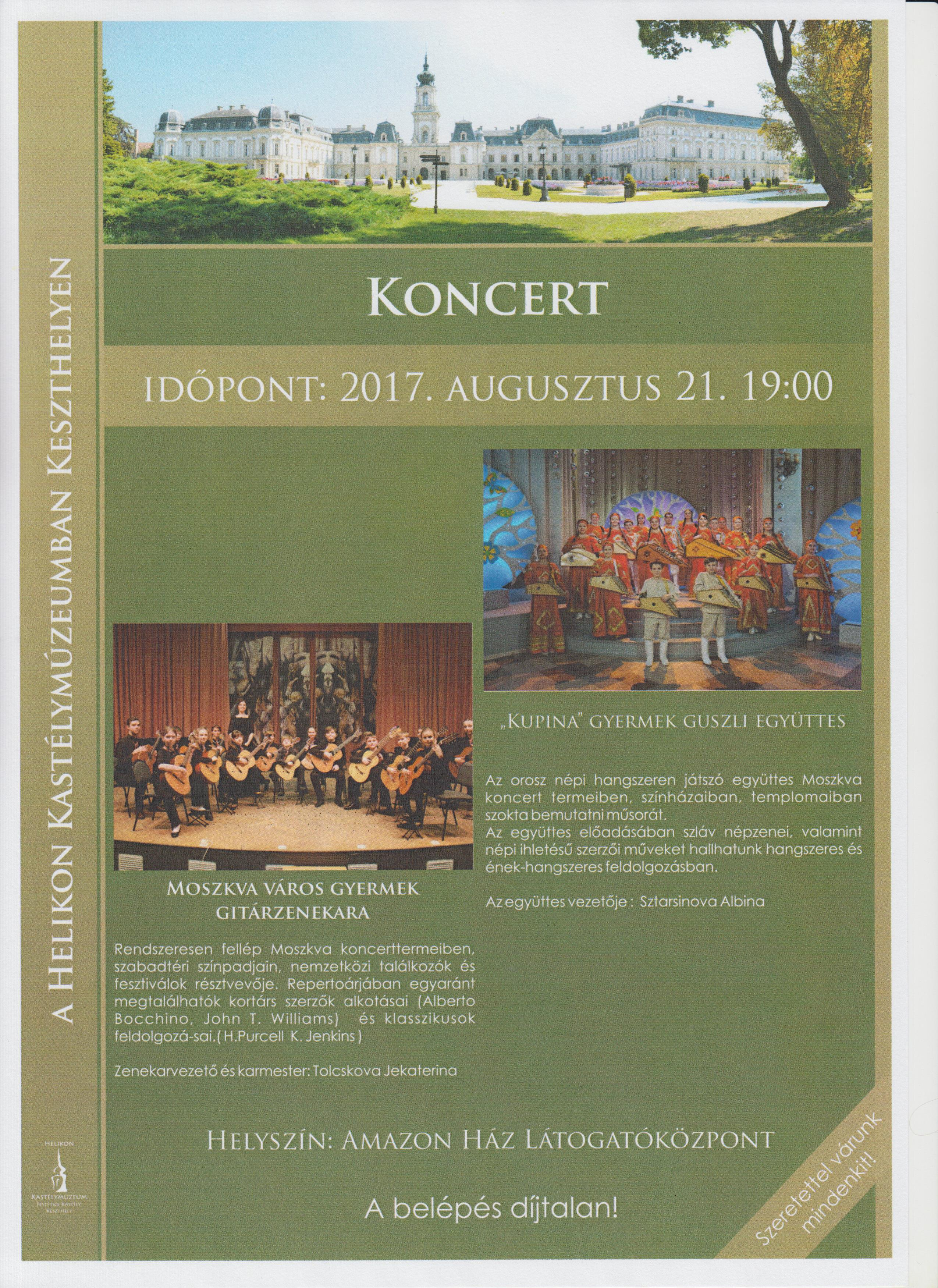 amazon koncert
