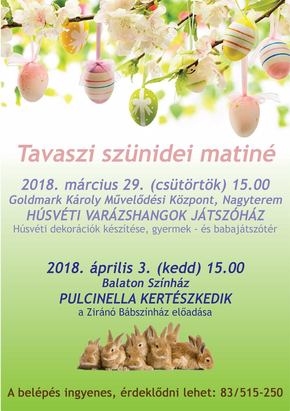 Tavaszi Szünidei Matiné_03.29.