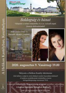 Aranyló dallamok: Boldogság és bánat - koncert a keszthelyi Helikon Kastélymúzeumban
