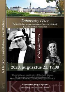 Záborszky Péter koncertje Keszthelyen