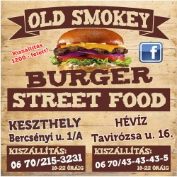 (hu) Old Smokey Burger Street Food